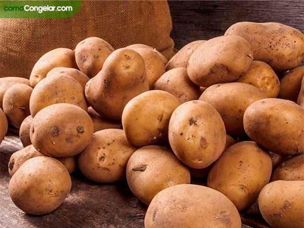 como congelar patatas